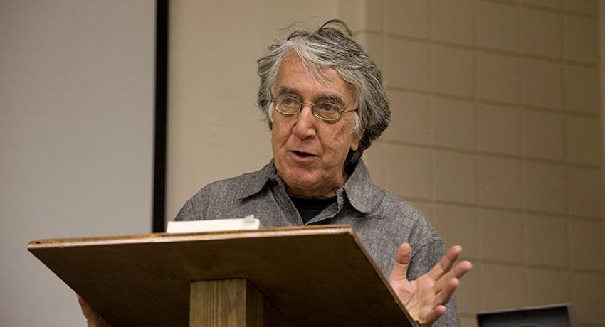 David Barsamian Kicks Off Provost's Series on Democracy and Diplomacy