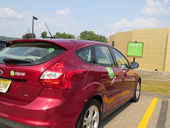 Zipcar Partnership Brings Car Sharing To Wsu