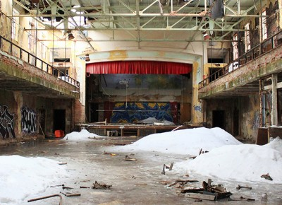 Image of the inside of Belchertown State School