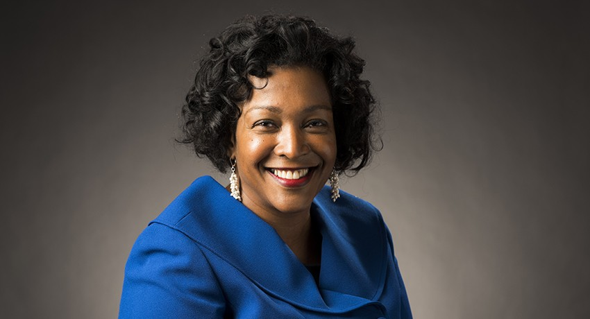 Worcester State University's Assistant Vice President for Human Resources, Payroll, and Affirmative Action and Equal Opportunities Stacey Luster