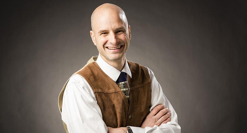 Worcester State University Associate Professor of Biology Daron Barnard