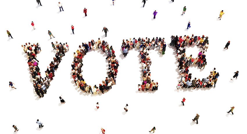 WSU Recognized for Excellence in Student Voter Engagement