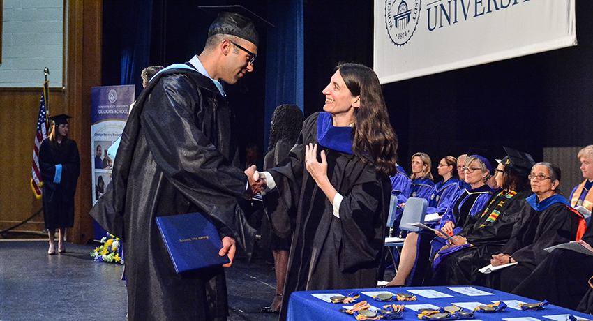 New School Academic Calendar >> Nearly 200 Graduate Students Receive Degrees at Commencement