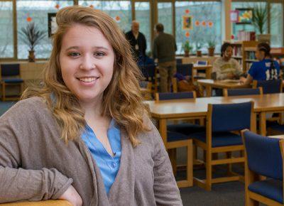 History major Isabelle Alera at Leominster High School