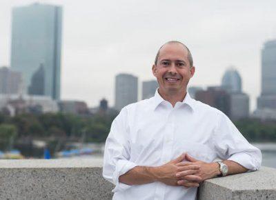 Massachusetts gubernatorial candidate Jay Gonzalez