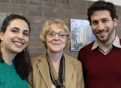 From left, Joanne Jaber Gauvin, Judith Knight, and Adam Saltsman