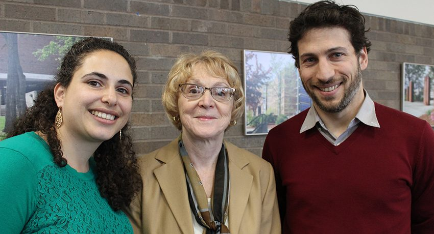 From left, Joanne Jaber Gauvin, Judith Knight, and Adam Saltsman