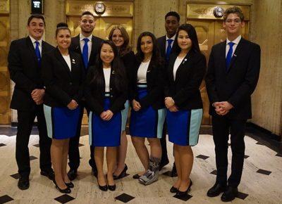 Members of the 2017-2018 WSU Enactus Team