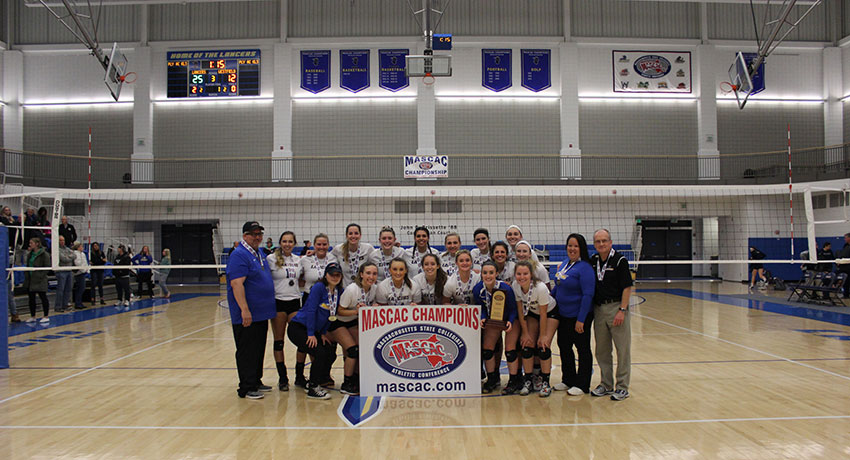 Volleyball Wins MASCAC; King Named Player of the Year
