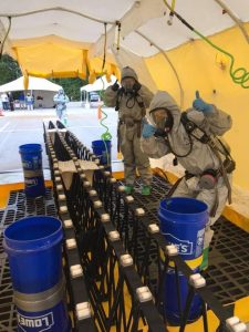 Emergency Medical Operations for CBRNE Incidents (EMO) course participants
