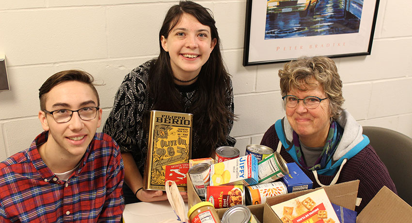 Student Food Pantry to Open in January