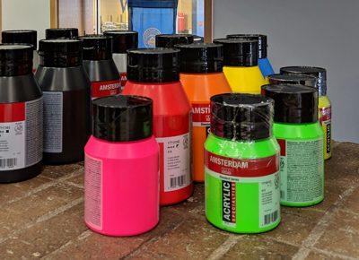 Mural Paint Supplies