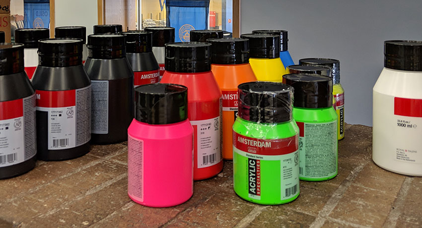 Mural Paint Supplies