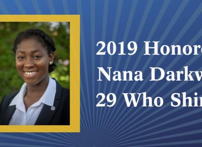 2019 Honoree Nana Darkwa
