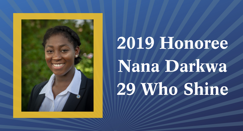 2019 Honoree Nana Darkwa