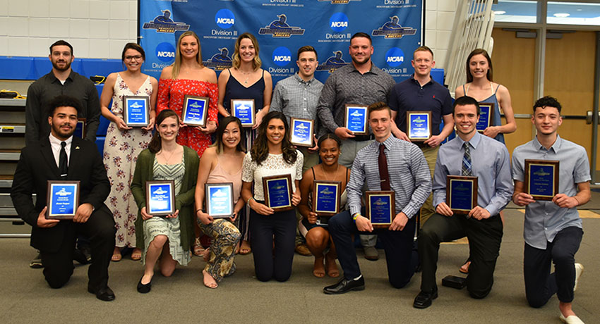 Worcester State University student-athletes