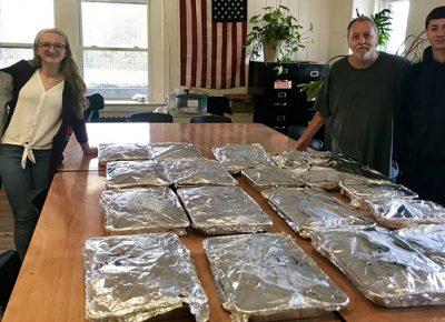 Food Recovery Network volunteers