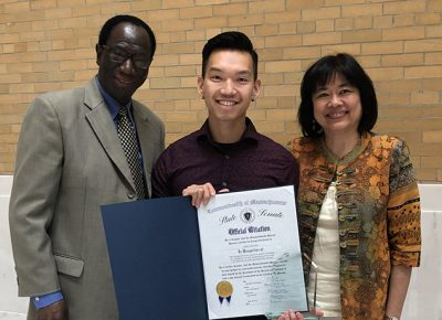 Jimmy Nguyen Receives State Universities Educator Award
