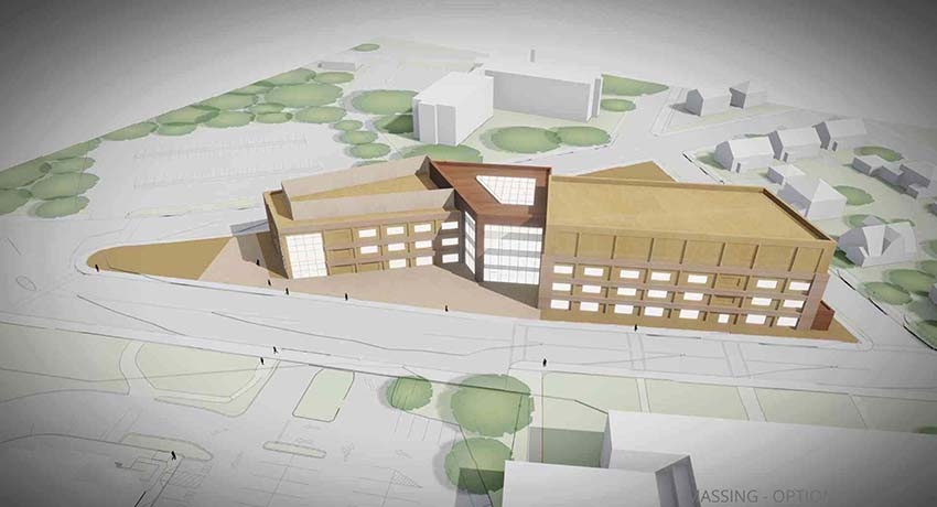 Preliminary Options for May Street Building Presented to Board of Trustees