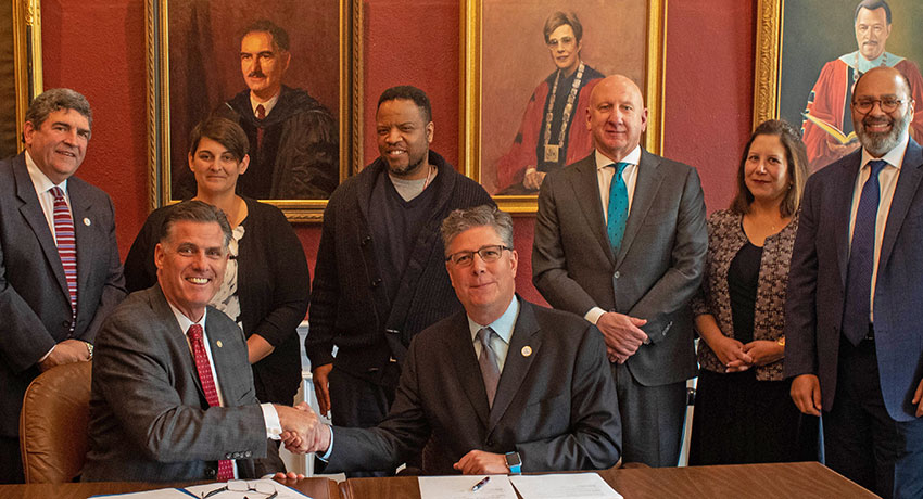 New Bridgewater State Partnership Gives Pathway to Criminal Justice Master's Degree