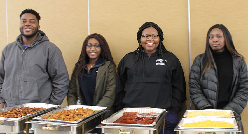 Ghanaian Scholars Visit Worcester State