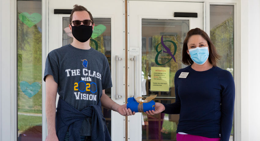 With the Pandemic Looming, Tara D'Andrea '97 Braced for Battle at Holden Rehabilitation