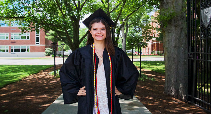 For Katie Commerford '20, Internship Leads to Job with Foreign Service Institute