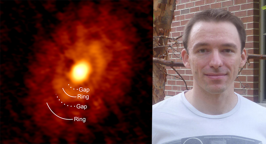 Assistant Professor Ian Stephens, Ph.D., Studies Cosmic Cradles to Understand the Birth of Stars