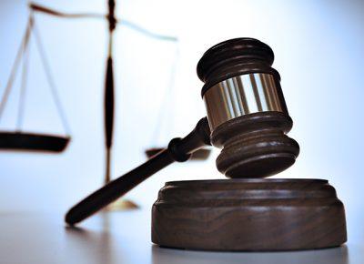 Criminal justice gavel