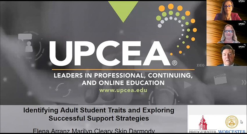 Cleary at UPCEA conference