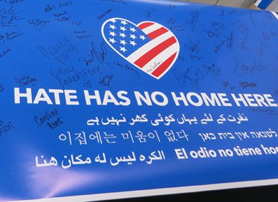Hate Has No Home Here banner