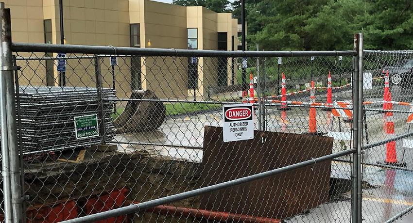 Summer Campus Construction Begins July 21